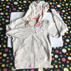 Lululemon athletics women's sweater Sz 4 cream